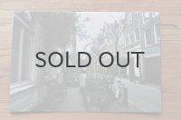 オリジナルポストカード/アムステルダム・・・歩道のお庭