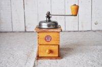 【送料無料】ドイツ・ヴィンテージ木製コーヒーミル/ナチュラル王冠マーク