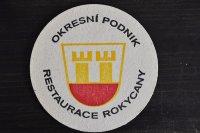 チェコ・古いペーパーコースター/OKPESNI PODNIK