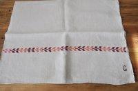 ◆20%off◆ハンガリー・ホームスパン/ハンガリアンリネン刺繍クロス/C