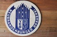 ドイツ・古いペーパーコースター/NEUBRANDENBURGER BRAUEREI