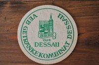 ドイツ・古いペーパーコースター/BIERE aus DESSAU