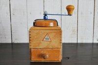 ドイツFMH(VEB)東ドイツ 木製コーヒーミル/ナチュラル