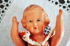 他の写真1: ◆30%off◆ドイツ・ヴィンテージ 陶器のお人形/赤いドレス