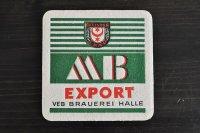 ドイツ・古いペーパーコースター/角/MB EXPORT