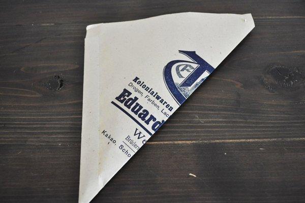 画像3: ドイツ・DDR時代(旧東ドイツ)の三角紙袋/EduardTröger/珈琲豆3枚セット