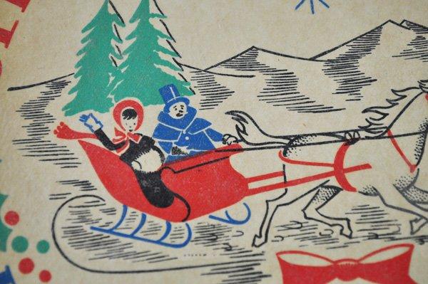 画像2: ◆70%off◆オランダ・ヴィンテージ 水シール/クリスマス