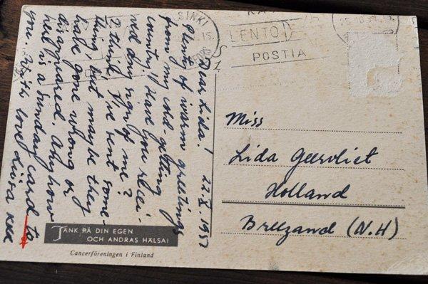 画像3: オランダ・ヴィンテージポストカード/1957年/馬車