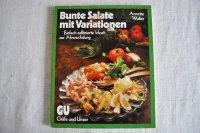 ドイツ・料理本Bunte Salate mit Variationen(カラフルなサラダ)1984年