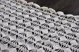 画像3: ドイツ・ヴィンテージ手編みレースのテーブルクロス/オフホワイト (3)