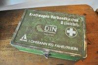 ドイツ・ヴィンテージTIN缶/Kraftwagen-Verbandkasten/グリーン