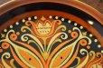 画像3: ドイツ・CP社 ヴィンテージ陶器の絵皿/フォークロア/オレンジ (3)