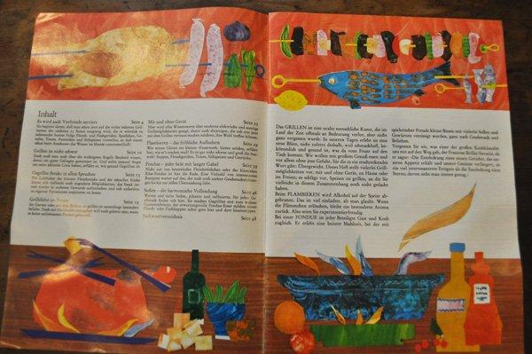 画像2: ドイツ・東ドイツ時代 料理冊子 『Von GRILL und RECHAUD』