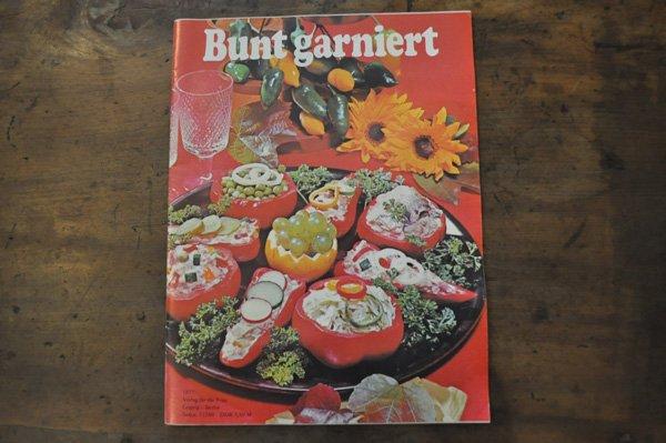 画像1: ドイツ・料理冊子Bunt garniert(カラフルな飾り)