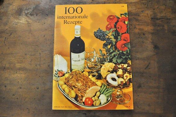 画像1: ドイツ・東ドイツ時代 料理冊子 100internationale