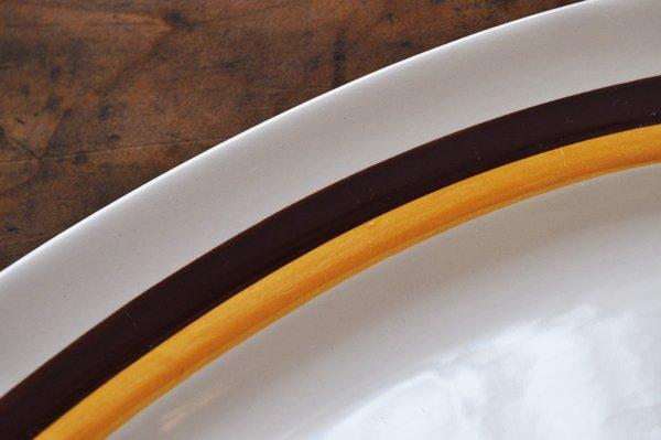 画像3: フランス・MOULLN DES LOUPS(ムーラン デ ルー) 楕円大皿/ライン