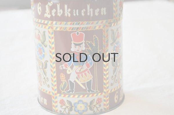 画像2: ドイツ・ヴィンテージTIN缶/Lebkuchen(レープクーヘン)/鳥・花