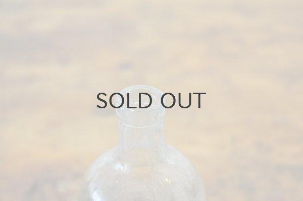 画像4: JAPAN・アンティーク ガラスボトル/目盛り付き薬瓶/クリア
